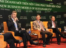 At the CEO Forum in Hanoi, 2011.