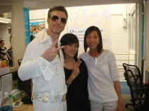 Elvis visited our office for Halloween in 2010.