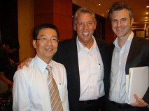 Mr. Trong, John C. Maxwell and me