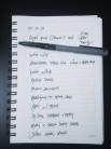 my to-do list